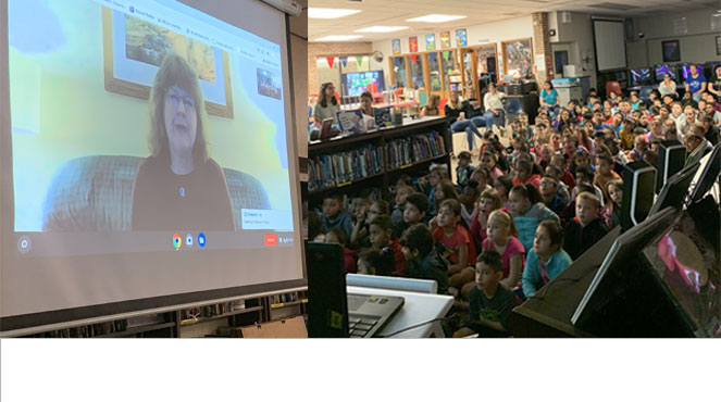 Skype with Linda Krantz